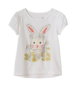 mix&MATCH Girls' 2T-6X Funny Bunny Puff Sleeve Tee