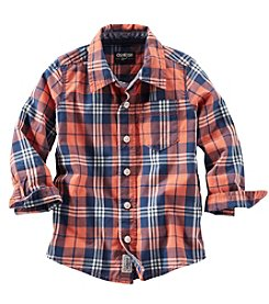 OshKosh B'Gosh® Plaid Button Down
