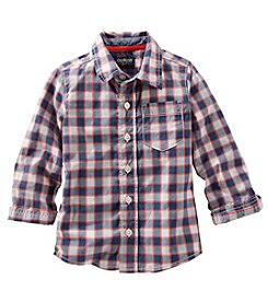 OshKosh B'Gosh® Plaid Button Down Shirt