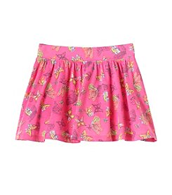 mix&MATCH Girls' 2T-6X Butterfly Print Scooter Skirt