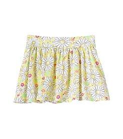 Mix & Match Girls' 2T-6X Daisy Print Scooter Skirt