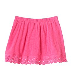 Mix & Match Girls' 2T-6X Eyelet Scooter Skirt