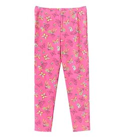 Mix & Match Girls' 2T-6X Butterfly Print Leggings