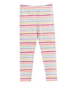 Mix & Match Girls' 2T-6X Stripe Print Leggings
