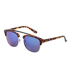 Steve Madden Double Bridge Round Sunglasses