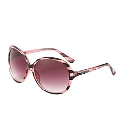 Steve Madden Round Striped Sunglasses