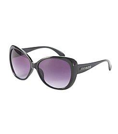 Steve Madden Modified Oval Sunglasses