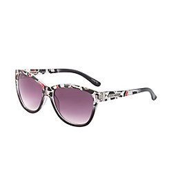 Steve Madden Plastic Cat Eye Sunglasses