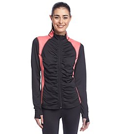 Exertek® Petites' Colorblock Shirred Front Jacket