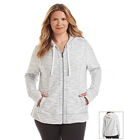 Exertek® Petites' French Terry Hooded Jacket