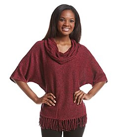 Relativity® Marled Cowl Neck Dolman Sweater