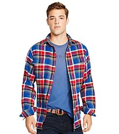 Polo Ralph Lauren® Men's Plaid Buttonfront Workshirt