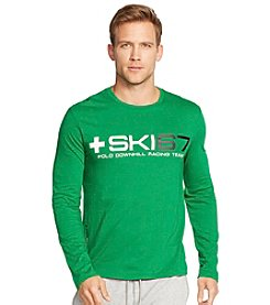 Polo Ralph Lauren® Men's Long Sleeve Ski Graphic T-Shirt