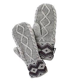 MUK LUKS® Sweater Mittens