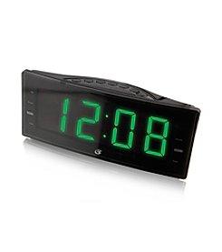 GPX Large Display Dual Alarm Clock Radio