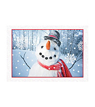 Image Arts® Smiling Snowman Box Of 40 Cards With Seals