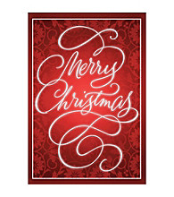 Image Arts® Ruby Merry Christmas Box Of 40 Cards With Seals