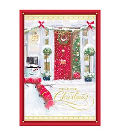 Image Arts® Snowman & House Box Of 40 Cards With Designed Envelopes