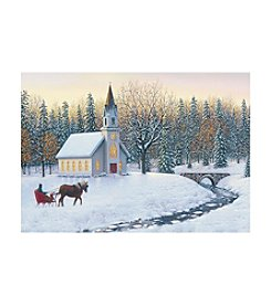 Image Arts® Church & Horse Box Of 40 Cards With Designed Envelopes