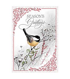 Image Arts® Bird Seasons Greeting Box Of 40 Cards With Designed Envelopes