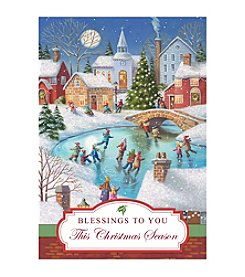 Image Arts® Skating Village Box Of 16 Cards