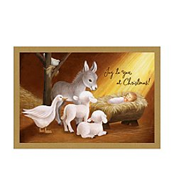 Image Arts® Animated Nativity Box Of 40 Cards With Designed Envelopes