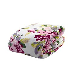 Laura Ashley® Home Lidia Floral Blanket