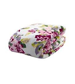 Laura Ashley® Home Lidia Floral Blanket