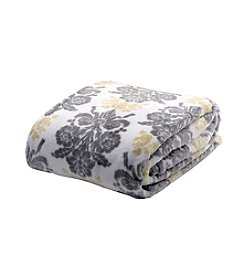 Laura Ashley® Home Tatton Damask Blanket