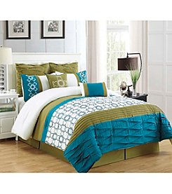 HomeChoice Philomina 8-pc. Comforter Set
