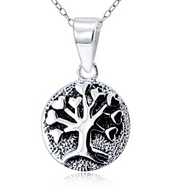 Designs by FMC Sterling Silver Tree of Life Pendant