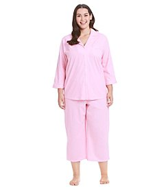 Intimate Essentials® Plus Size Capri Pajama Set