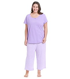 Intimate Essentials® Knit Pajama Set