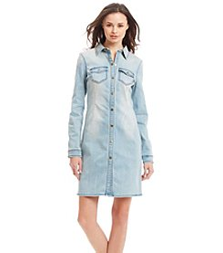 KIIND OF Denim Shirt Dress