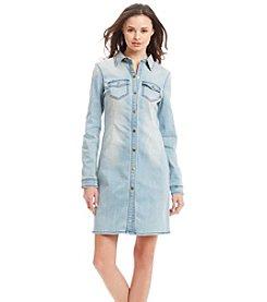 KIIND OF Denim Shirt Dress