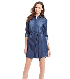 XOXO® Chambray Shirt Dress