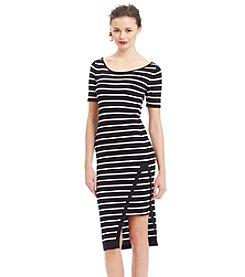XOXO® Asymmetric Midi Dress