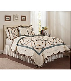 LivingQuarters Scarlett Quilt Collection