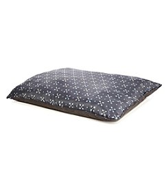 John Bartlett Pet Gray Foulard Large Pet Bed