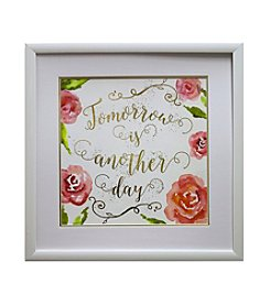 Star Creations Another Day Gold Foil Roses Artwork