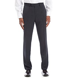 Kenneth Cole REACTION® Men's Plaid Slim Flat Front Dress Pants