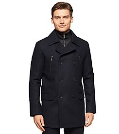 Calvin Klein Men's Wool Pea Coat