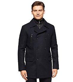 Calvin Klein Men's Wool Pea Coat