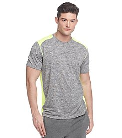 Exertek® Men's Short Sleeve Spacedye Fashion Tee