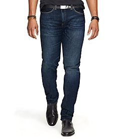 Polo Ralph Lauren® Men's Varick Slim-Straight Lightweight Morris-Wash Jeans