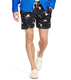 Polo Ralph Lauren® Men's Swordfish-Print Traveler Swim Shorts