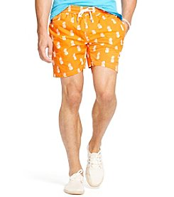 Polo Ralph Lauren® Men's Pineapple-Print Traveler Swim Shorts