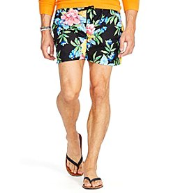 Polo Ralph Lauren® Men's Floral-Print Traveler Swim Shorts
