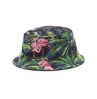 d2a84ee4b6a9 ... UPC 889425982586 product image for Polo Ralph Lauren® Men s  Flamingo-Print Reversible Bucket Hat ...