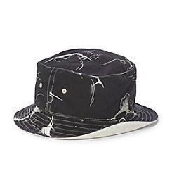 Polo Ralph Lauren® Men's Swordfish-Print Reversible Bucket Hat